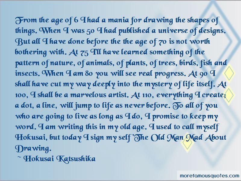 Hokusai Katsushika Quotes Pictures 2
