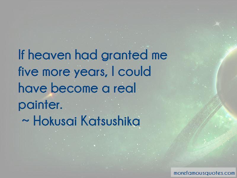 Hokusai Katsushika Quotes Pictures 4