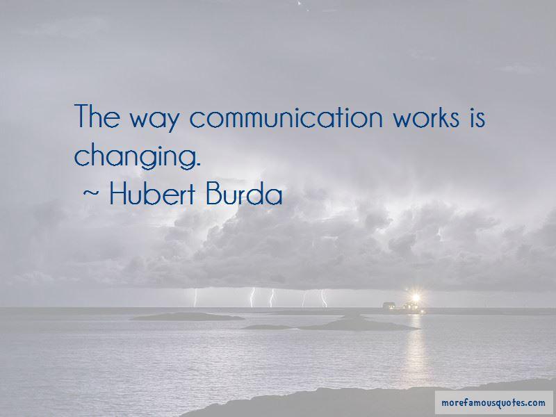 Hubert Burda Quotes Pictures 2