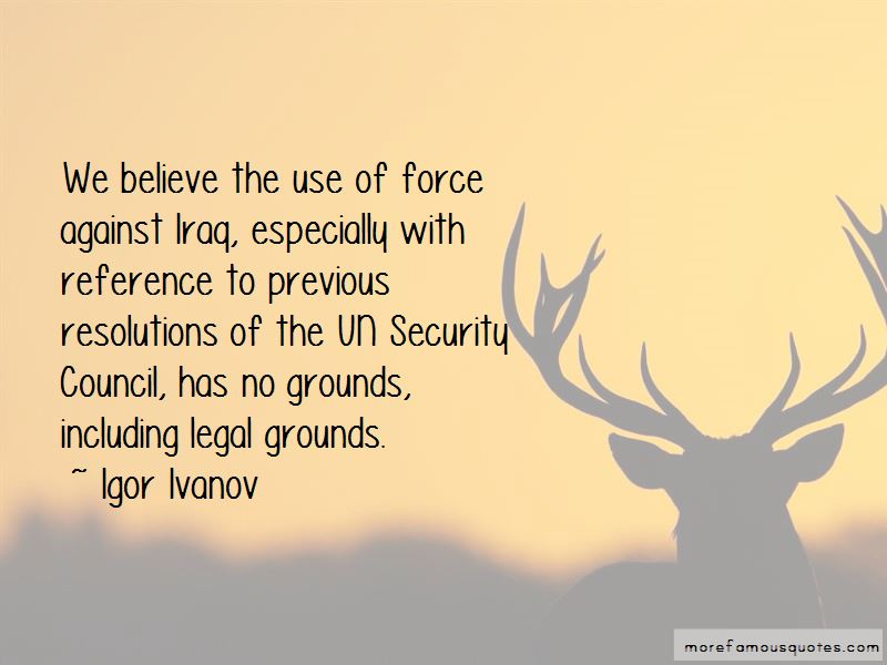 Igor Ivanov Quotes Pictures 2