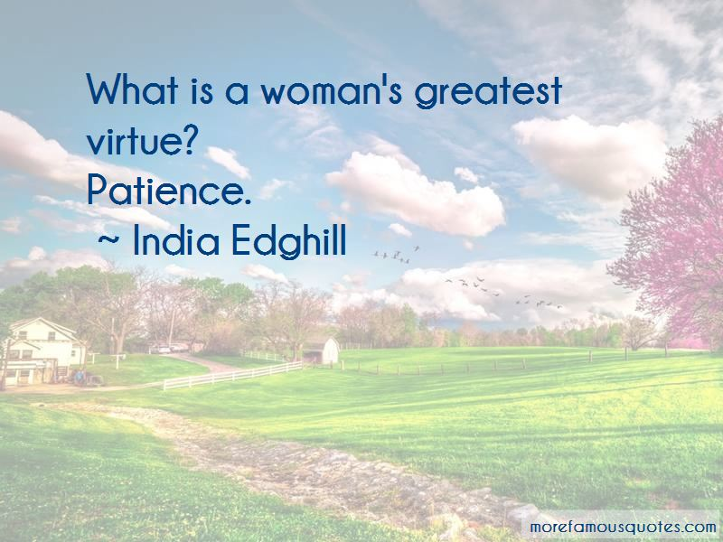 India Edghill Quotes Pictures 2