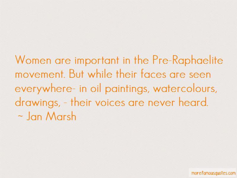 Jan Marsh Quotes