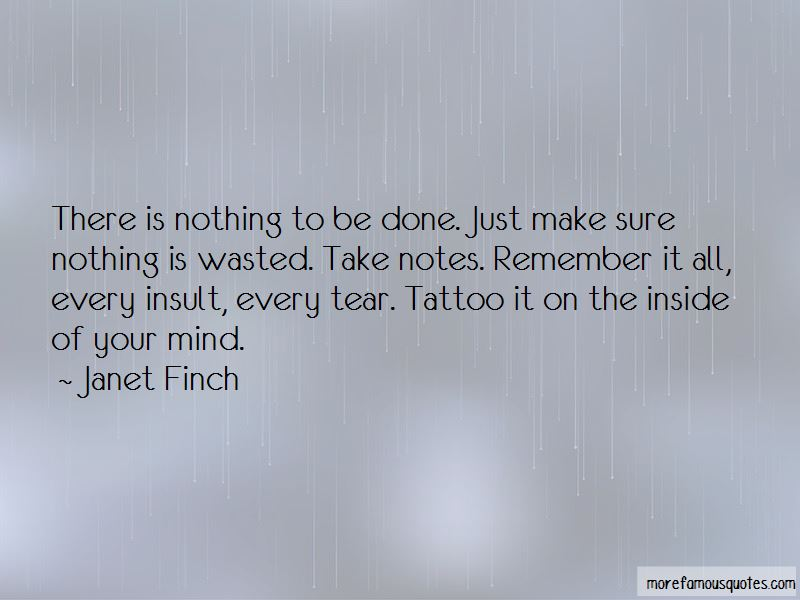 Janet Finch Quotes Pictures 2