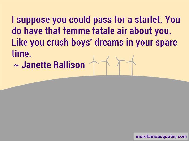 Janette Rallison Quotes