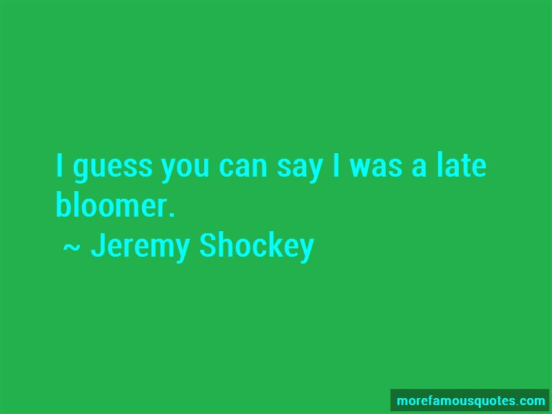 Jeremy Shockey Quotes Pictures 2