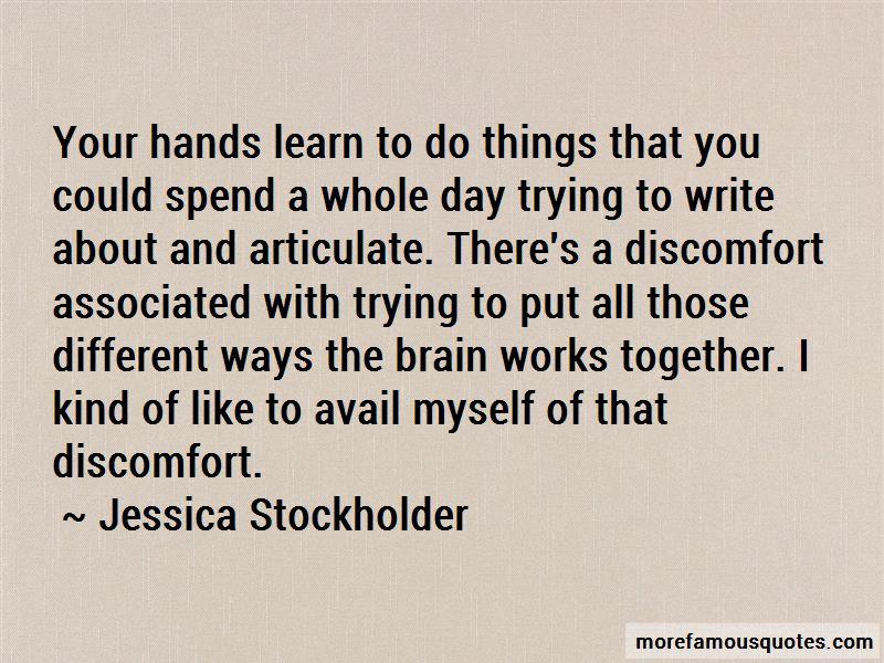 Jessica Stockholder Quotes Pictures 3