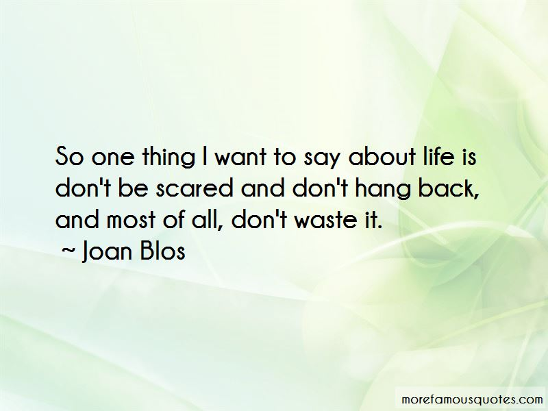 Joan Blos Quotes