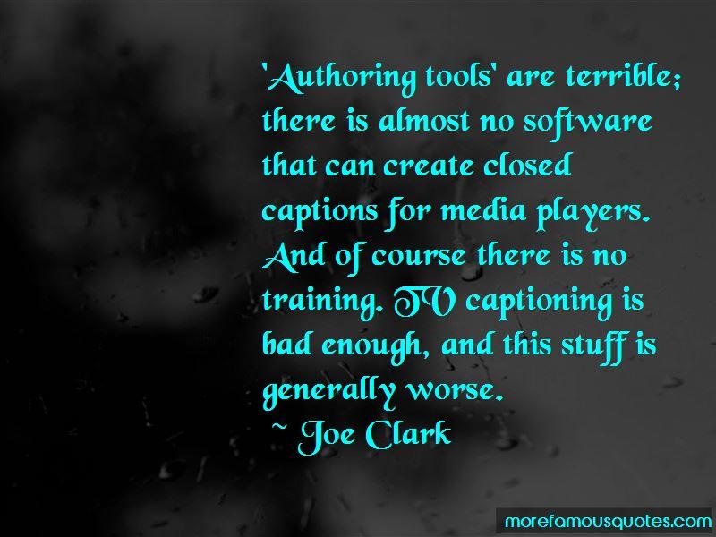 Joe Clark Quotes Pictures 2