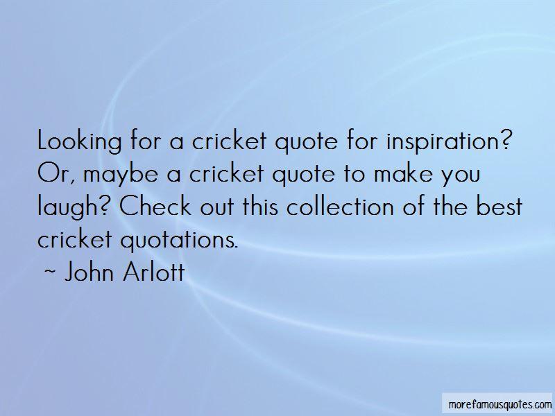 John Arlott Quotes Pictures 2