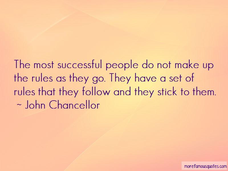 John Chancellor Quotes