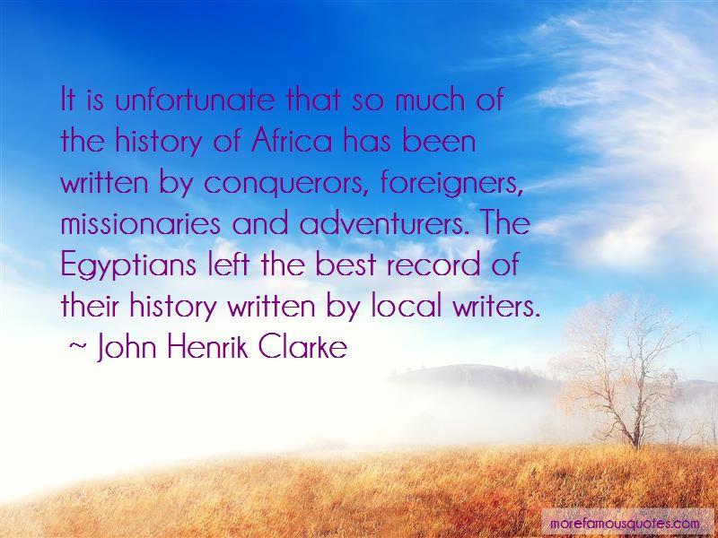 John Henrik Clarke Quotes