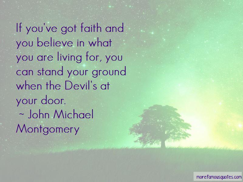 John Michael Montgomery Quotes
