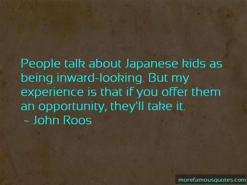 John Roos Quotes Pictures 3