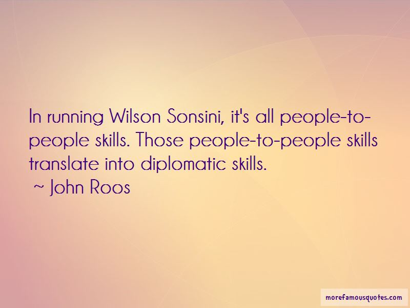John Roos Quotes