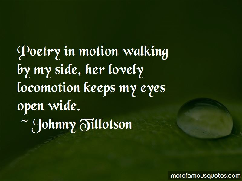 Johnny Tillotson Quotes