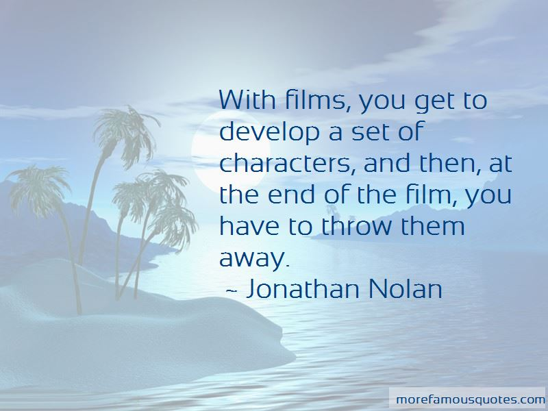 Jonathan Nolan Quotes Pictures 3