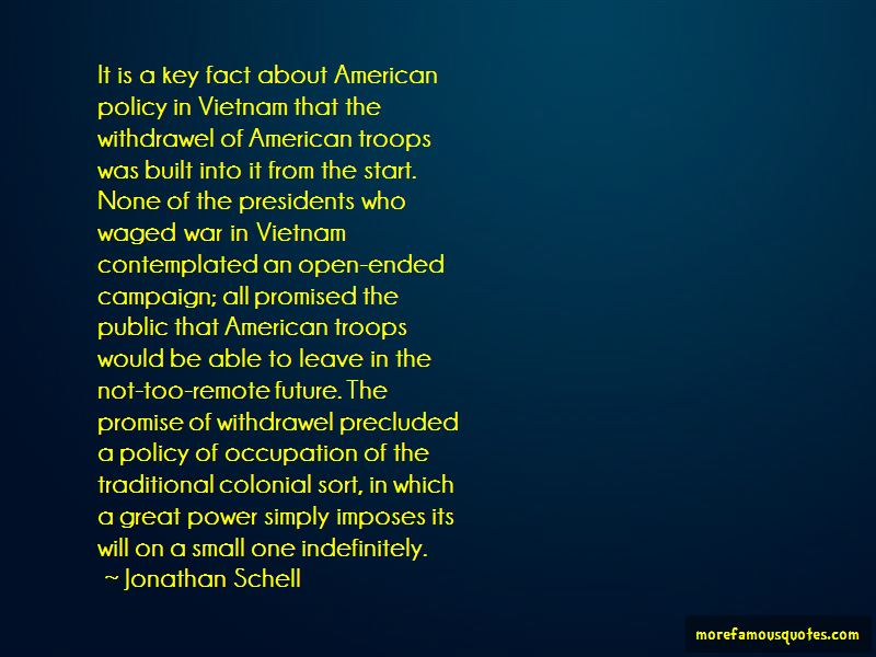 Jonathan Schell Quotes