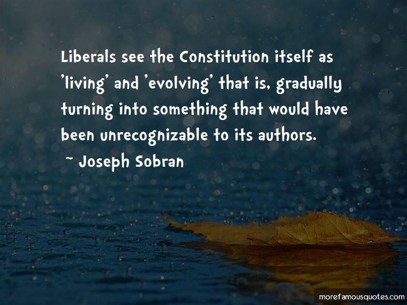 Joseph Sobran Quotes