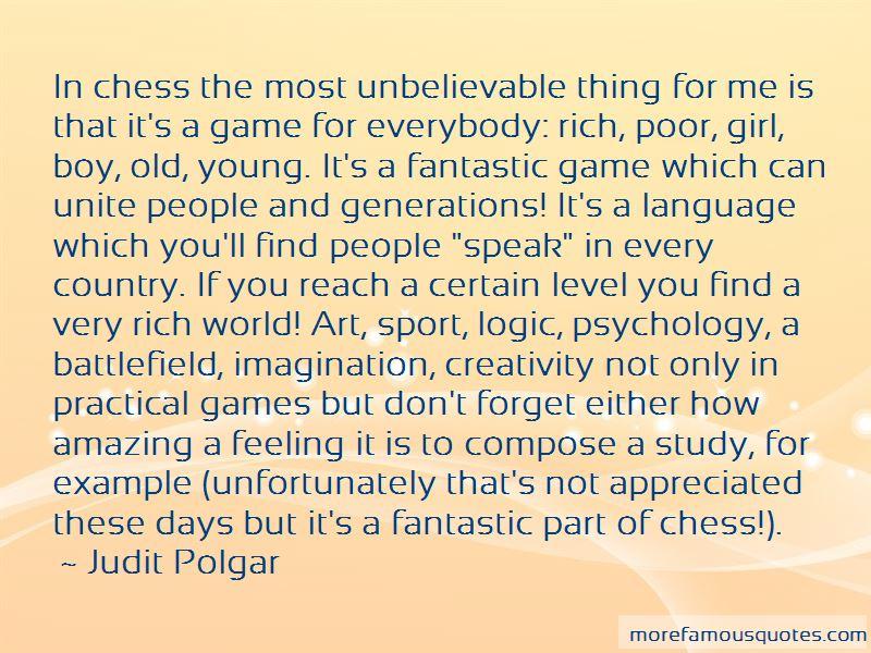 Judit Polgar Quotes Pictures 4