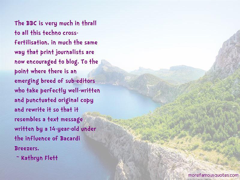 Kathryn Flett Quotes