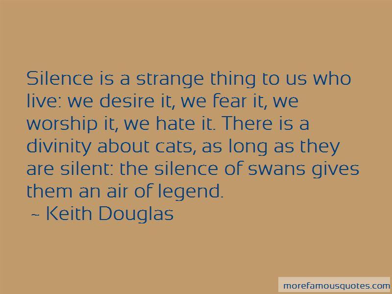 Keith Douglas Quotes