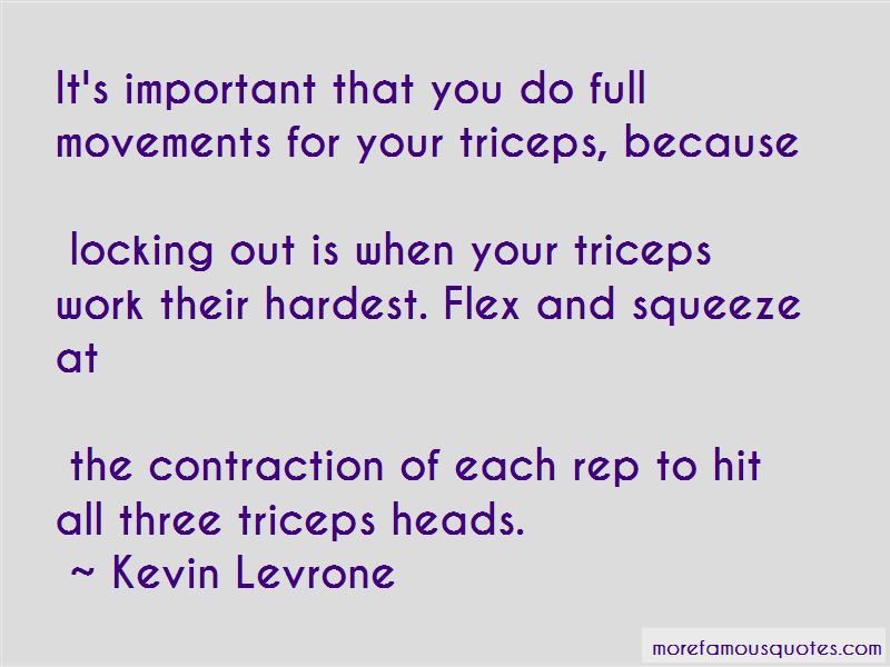 Kevin Levrone Quotes