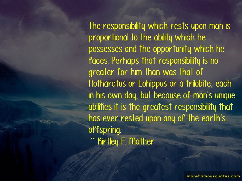 Kirtley F. Mather Quotes