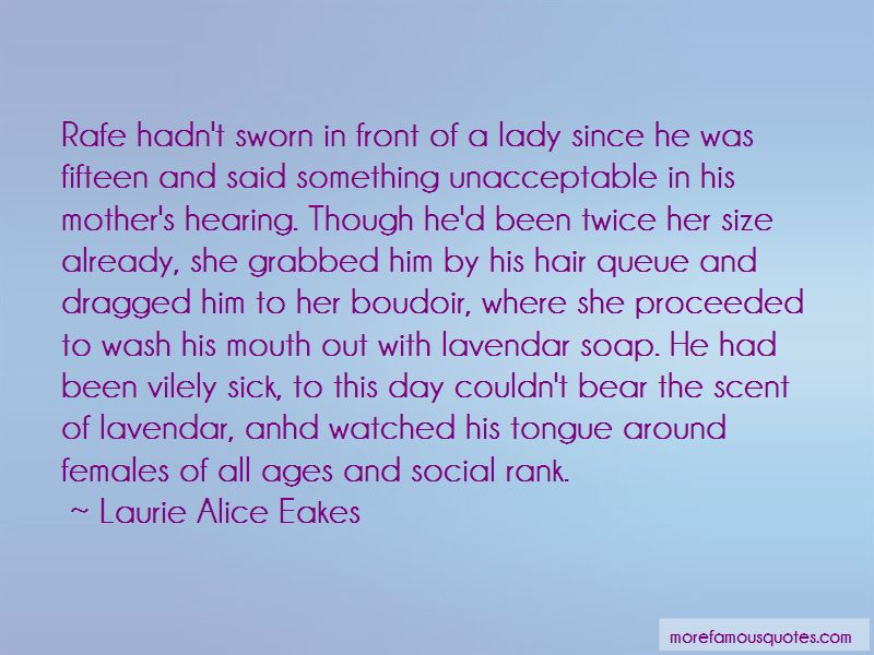 Laurie Alice Eakes Quotes Pictures 2