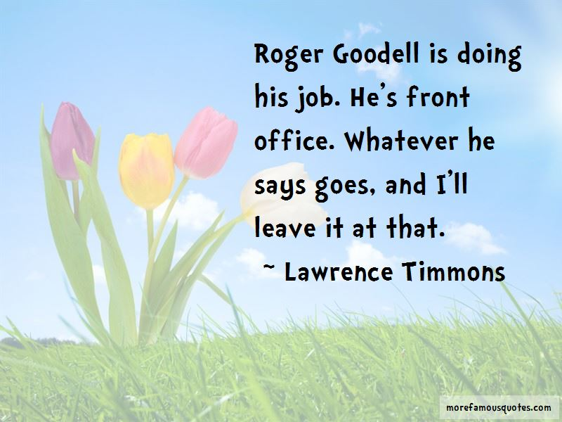 Lawrence Timmons Quotes