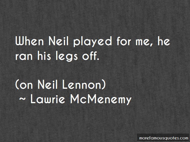 Lawrie McMenemy Quotes
