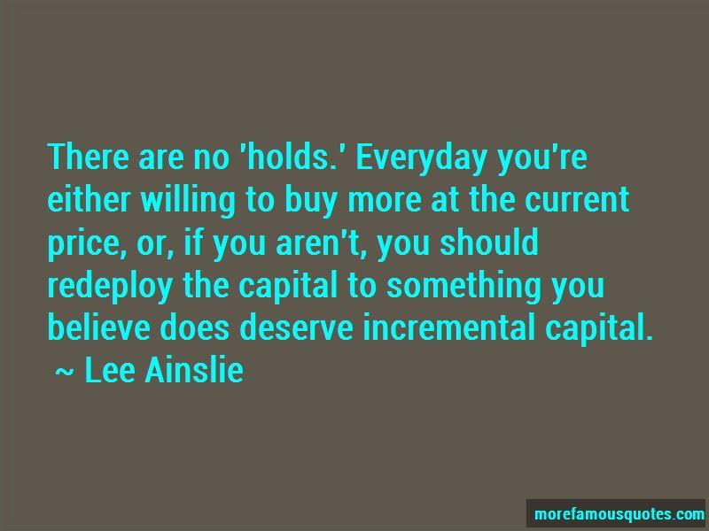 Lee Ainslie Quotes