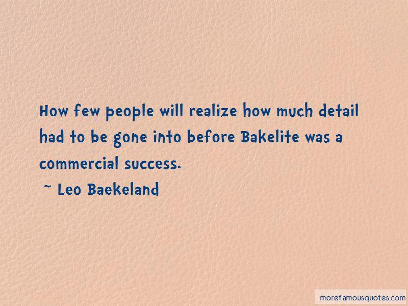 Leo Baekeland Quotes Pictures 2