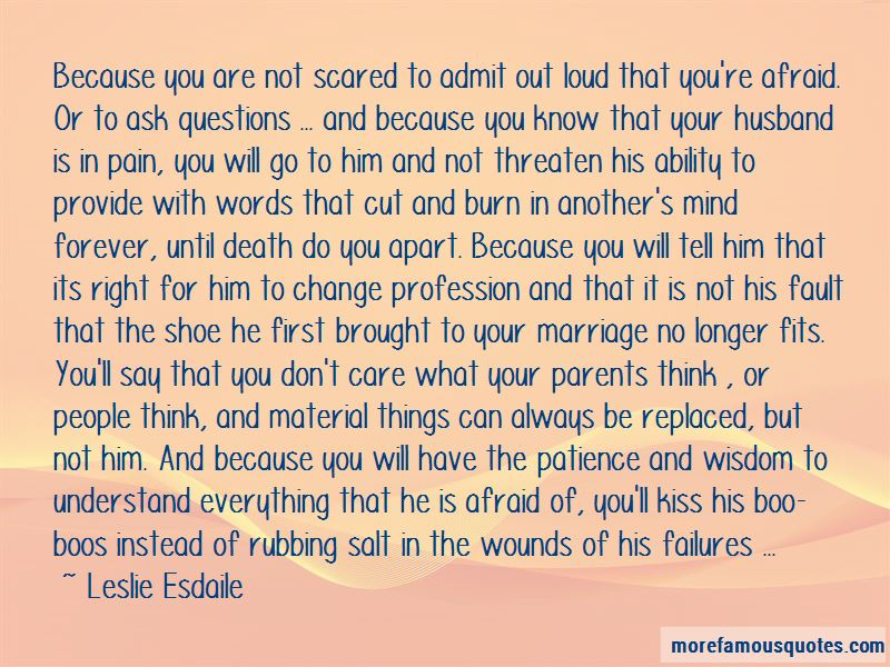 Leslie Esdaile Quotes Pictures 2