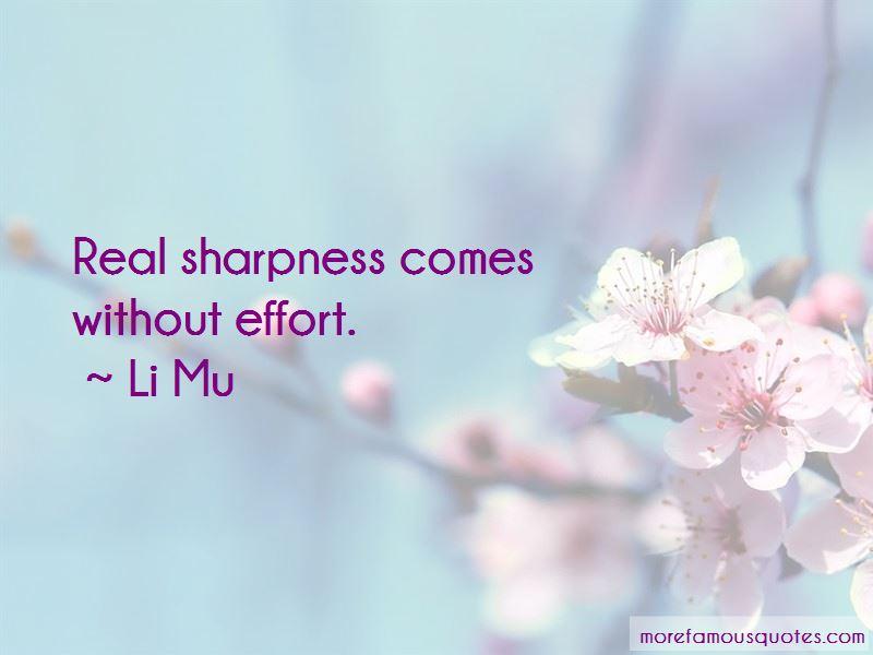 Li Mu Quotes Pictures 2