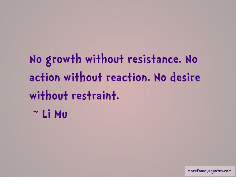 Li Mu Quotes