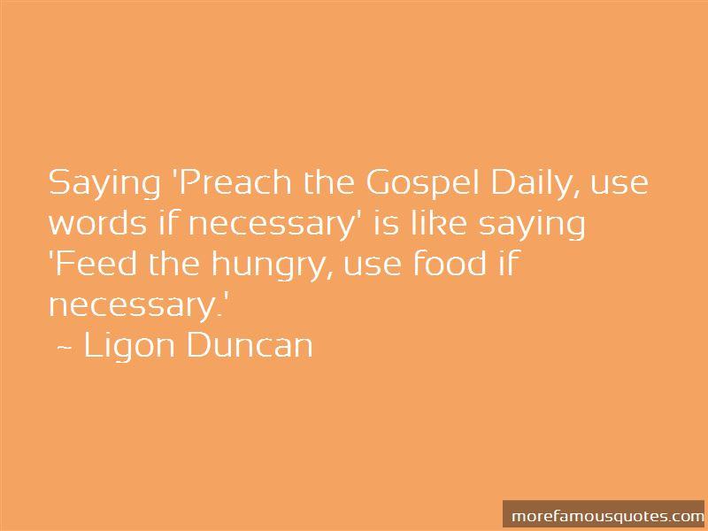 Ligon Duncan Quotes