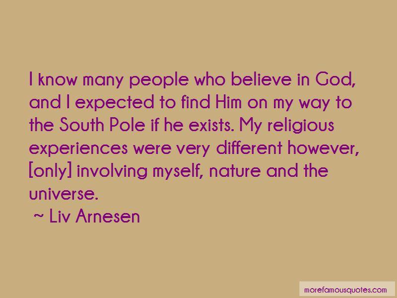 Liv Arnesen Quotes