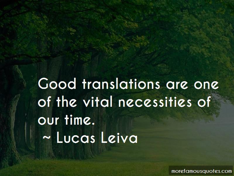 Lucas Leiva Quotes