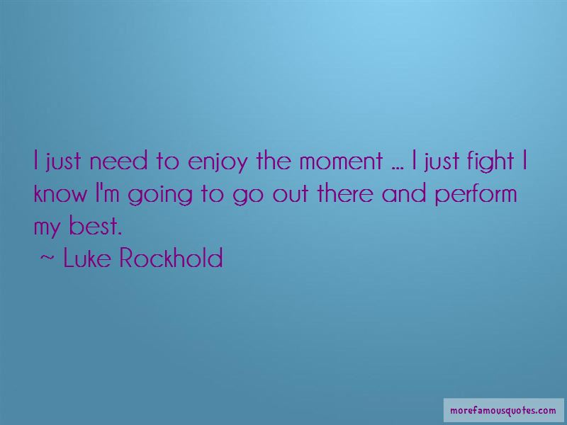 Luke Rockhold Quotes Pictures 2