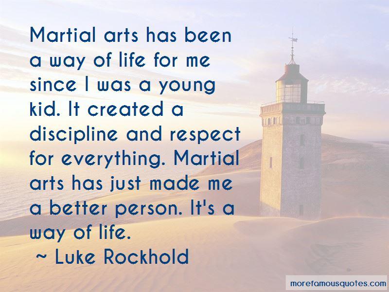 Luke Rockhold Quotes