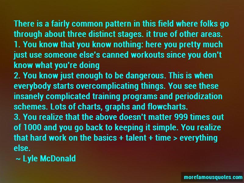 Lyle McDonald Quotes