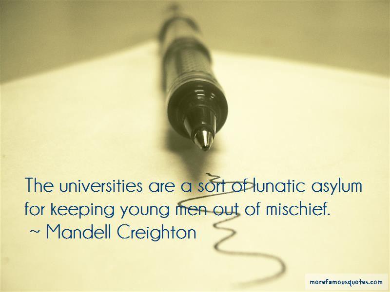 Mandell Creighton Quotes