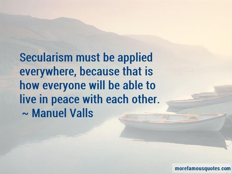 Manuel Valls Quotes Pictures 2