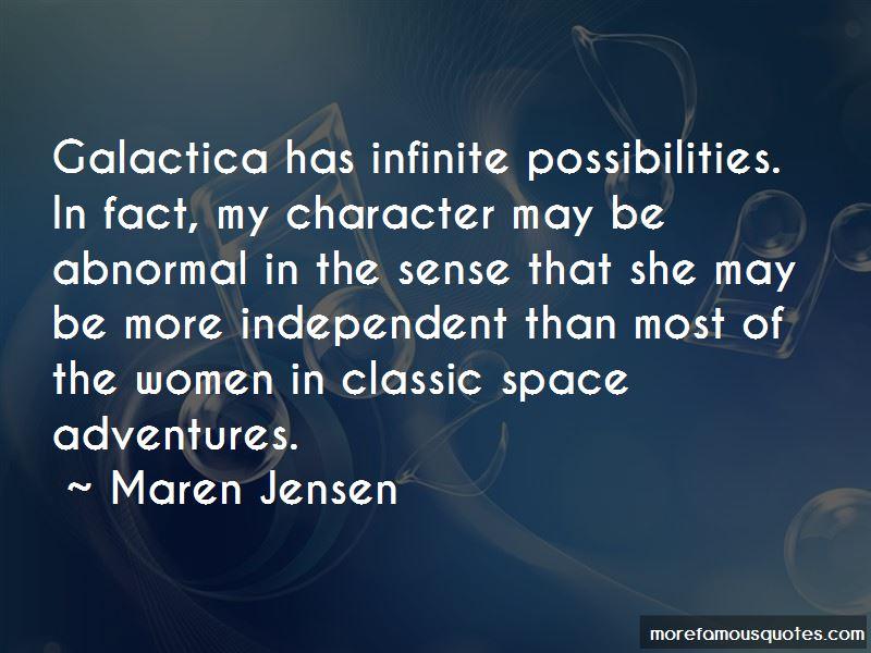 Maren Jensen Quotes