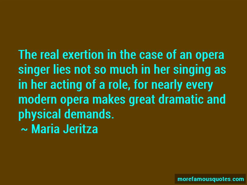 Maria Jeritza Quotes