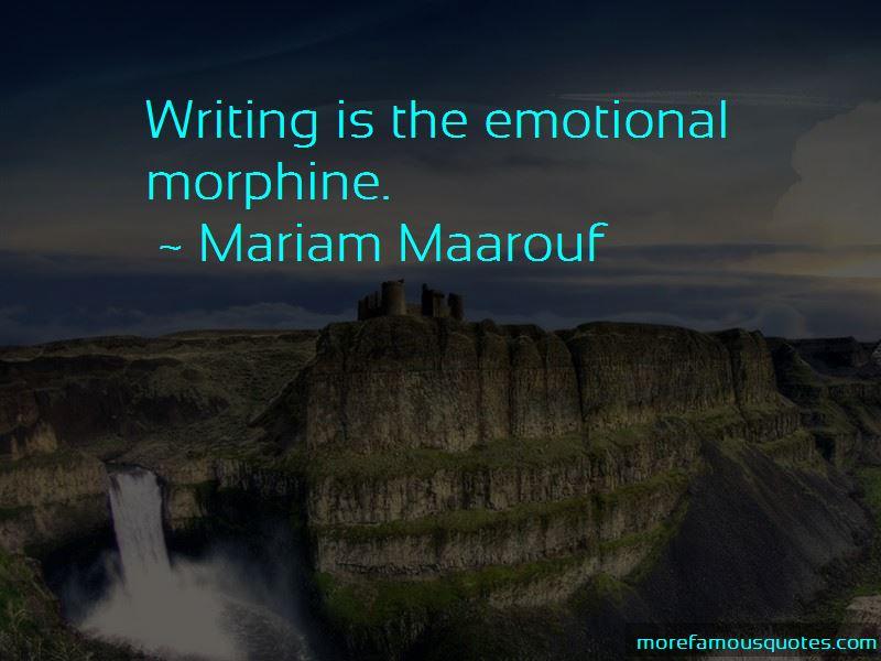 Mariam Maarouf Quotes
