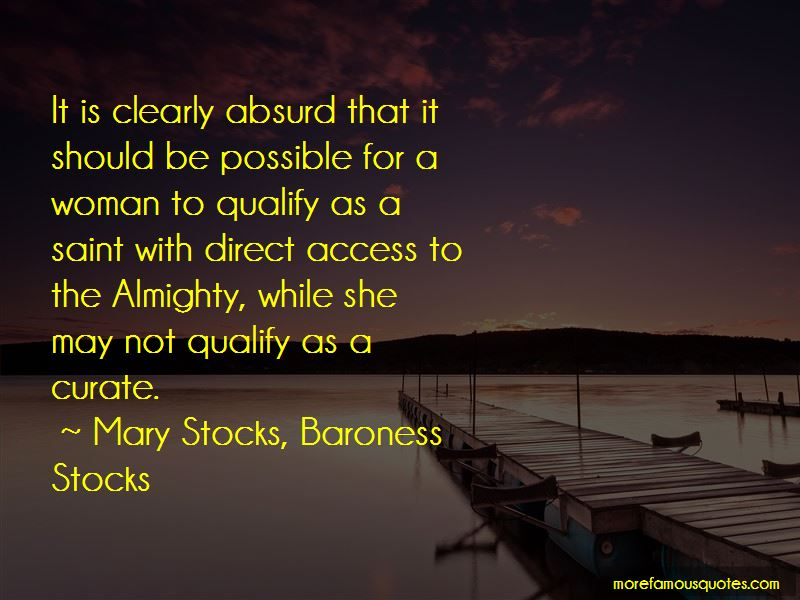Mary Stocks, Baroness Stocks Quotes Pictures 2