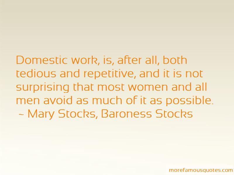 Mary Stocks, Baroness Stocks Quotes