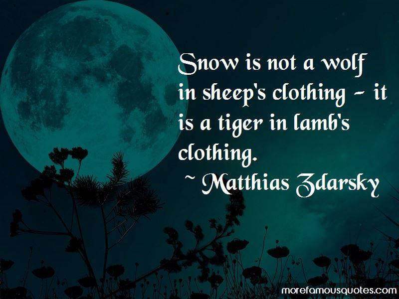 Matthias Zdarsky Quotes