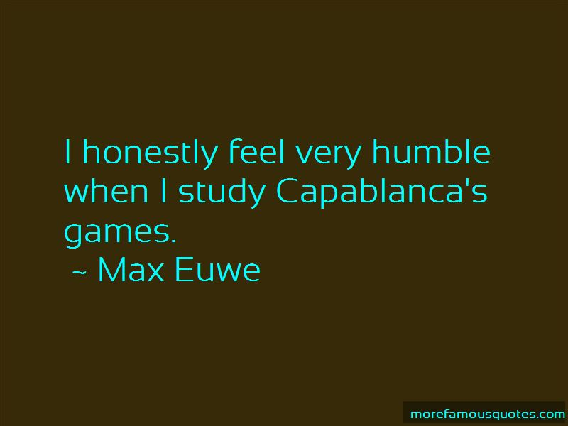 Max Euwe Quotes Pictures 3